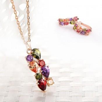 Моден комплект с кристали