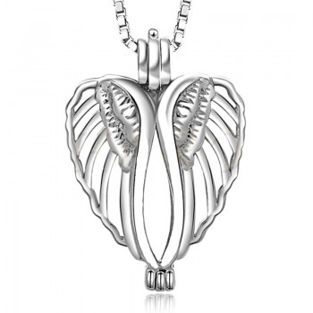 Медальон за перла - Ангелски крила