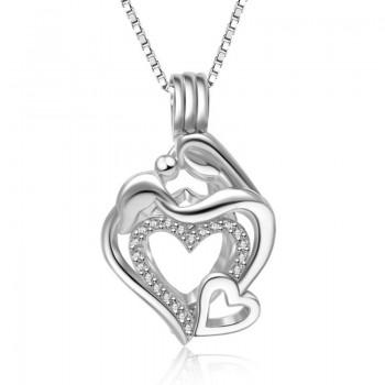 Медальон за перла - Обичам те